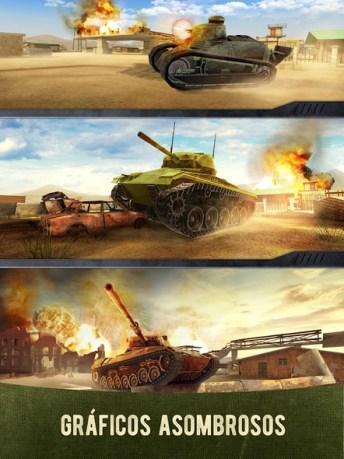 War Machines Tank Shooter Game APK MOD imagen 4