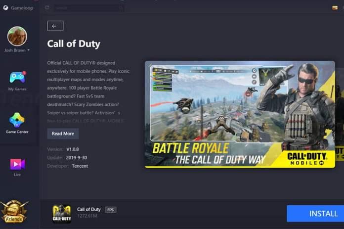 Como jugar Call of Duty Mobile en PC launcher