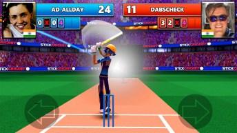 Stick Cricket Live APK MOD Imagen 1