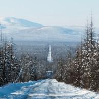 Frio do extremo leste da Rússia