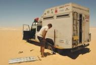 Encalhou no Deserto do Saara, Egito