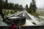 Neve no Tioga Pass
