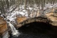 Cachoeira do riacho McNallie