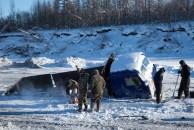 Especialistas em tirar caminhões do gelo