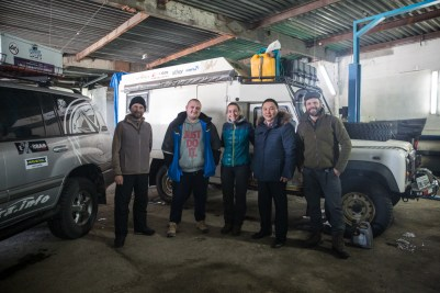 Mecânica em Yakutsk