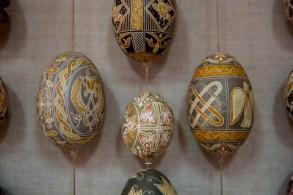 Detalhe dos ovos