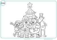 Dibujos de Navidad para colorear - Mundo Primaria