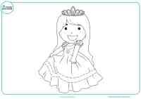 Dibujos de Princesas para colorear - Mundo Primaria