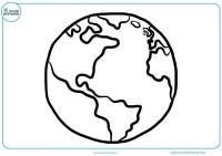 Dibujos de planetas para colorear