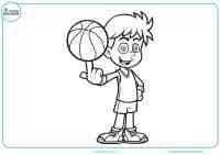 Dibujos Para Colorear De Baloncesto | suporter.info