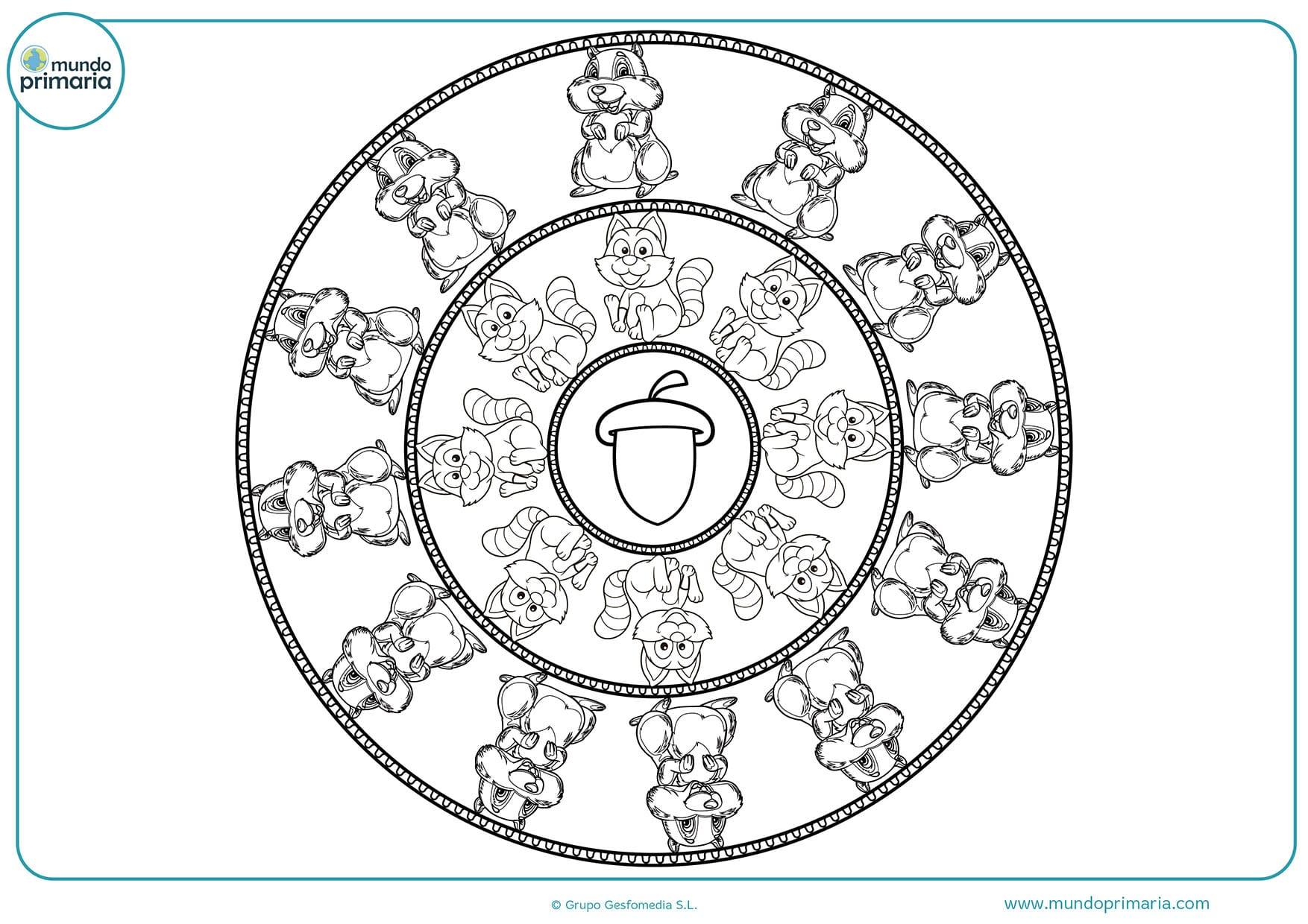 Imagenes De Mandalas Faciles Para Dibujar Para Ninos