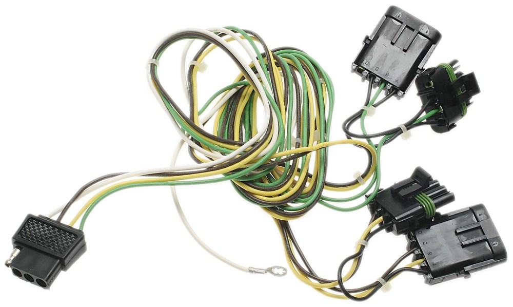 medium resolution of kit de conectores de remolque para jeep wrangler 1991 1992 1993 1994 1995 1997 marca ac delco n mero de parte tc216