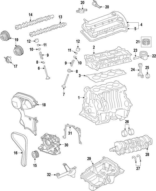 Repuestos y Accesorios para autos Ford Fusion