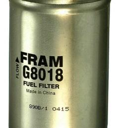 filtro de combustible para ford ranger 1999 marca fram n mero de parte g8018dp [ 1500 x 1500 Pixel ]