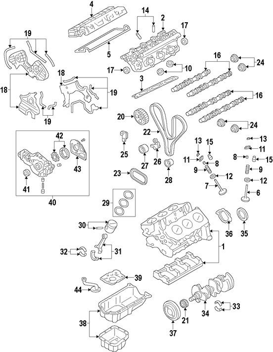 Correas, Tensores y Poleas para Hyundai Santa Fe 2009