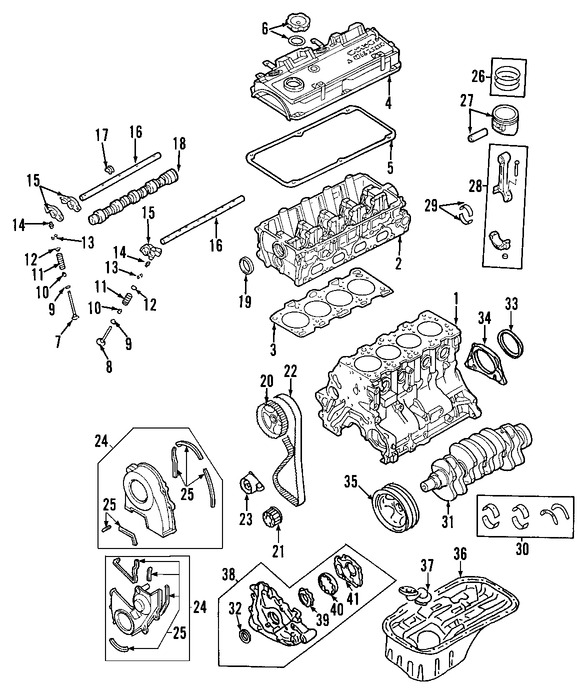 Juego Completo Empacaduras del Motor Original para