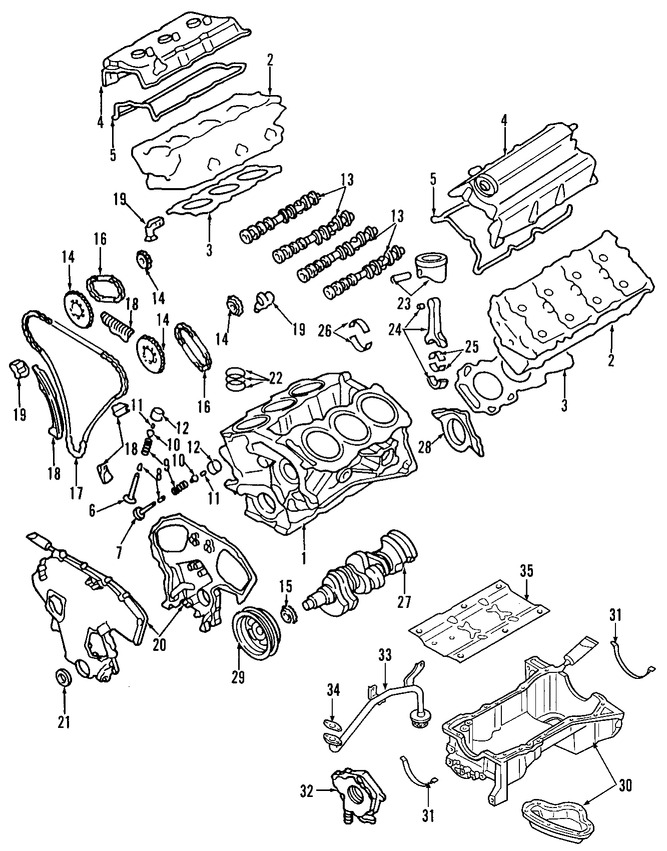 Mitsubishi Galant Diagrama Del Motor