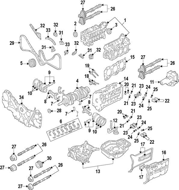 Repuestos y Accesorios para autos Subaru Tribeca