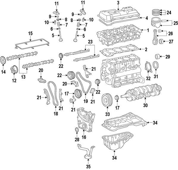 Correas, Tensores y Poleas para Toyota Tacoma 2006