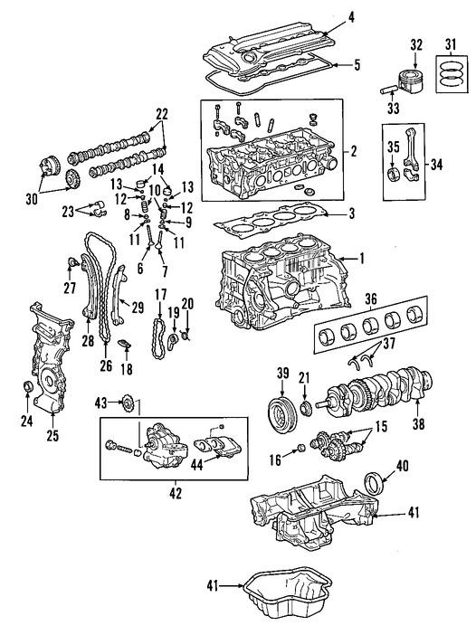 Repuestos y Accesorios para autos Toyota Matrix