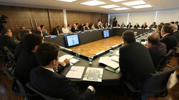 Reunião hoje definiu o caminho do Mengão (Foto: CBF)