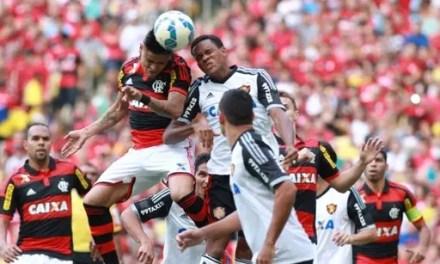 Atuações: zaga bate cabeça, meio não cria, ataque não finaliza; notas de Flamengo 2 x 2 Sport