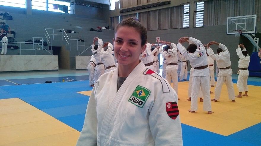Entrevista com nossa judoca Bárbara Timo