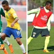 Jorge e Jájá estavam a serviço da seleção brasileira e agora foram integrados aos Profissionais do Flamengo. (Foto CBF)