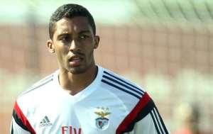 César em treinamento no CT do Benfica | Foto Benfica/Divulgação