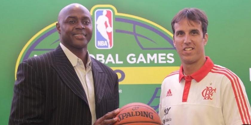 """Diretor da NBA: """"Nenhum time de basquete do mundo tem a torcida que o Flamengo tem"""""""