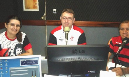 Papo Rubro-Negro! Interior do Ceará tem programa de rádio exclusivo do Mengão
