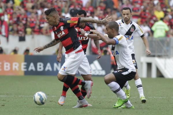 Guerrero mais uma vez não foi bem. Vasco nos ganhou até com facilidade. | Foto: Gilvan de Souza/Flamengo