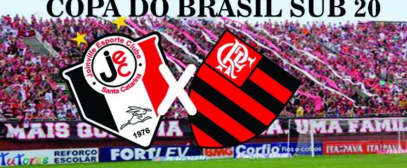 Fla precisa ganhar na casa do adversário | Arte Reprodução Site Joinville