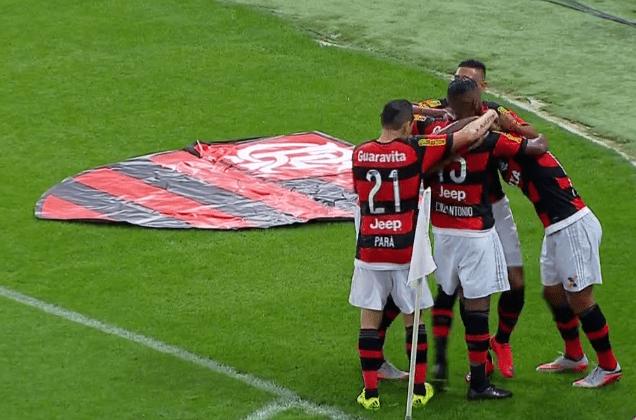 Números do Flamengo no Brasileirão 2015