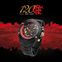 Você pode comprar o relógio 120 Anos pelo link: timecenter.com.br/flamengo