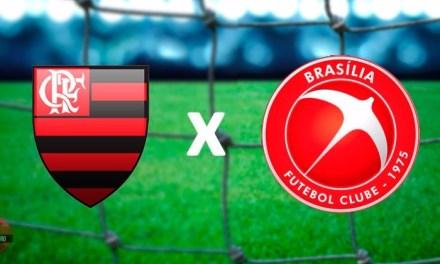 Embalado pela ótima campanha na primeira fase, Flamengo busca a classificação diante do Brasília
