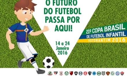 Flamengo estreia na Copa Votorantim Sub-15 contra o Corinthians