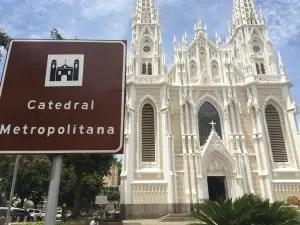 Catedral Metropolitana de Vitória.