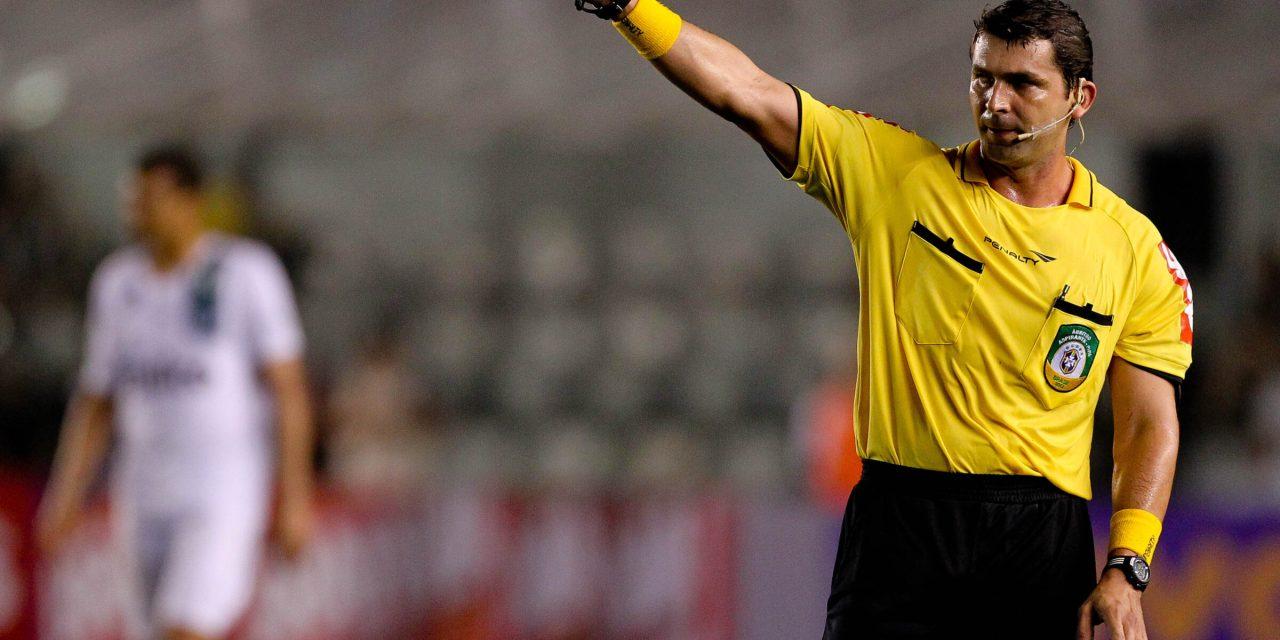 Arbitragem: Wagner Reway apita Flamengo x Santa Cruz