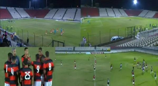 De virada, Fla goleia o Atlético-MG e vai às semis da Taça BH Sub-17