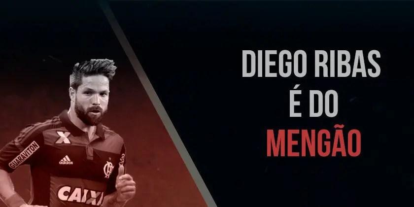 """Diego é anunciado no Fla e se declara: """"vim ser feliz"""""""