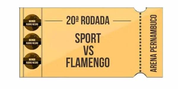 Ingressos – Sport x Flamengo