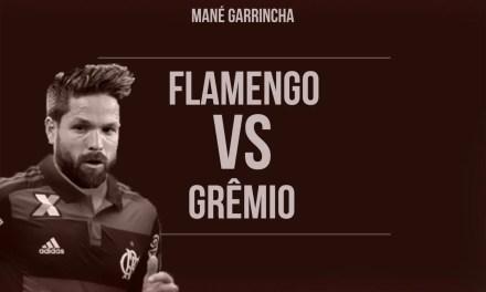 De volta a Brasília e com Diego titular, Flamengo enfrenta o Grêmio