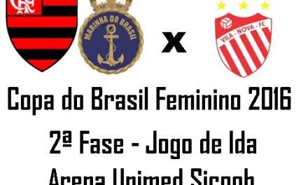 Flamengo/Marinha: compromisso em Cariacica pela Copa do Brasil