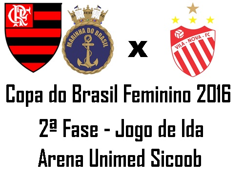 Fla/Marinha faz seis gols, elimina Vila Nova e está classificado na Copa do Brasil