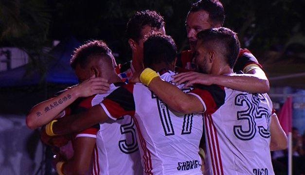 Flamengo vira a partida e vence a 4ª consecutiva no Brasileirão