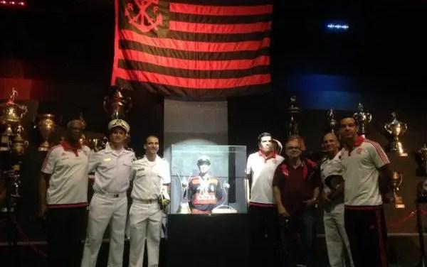 Fla Experience recebeu troféus do Flamengo/Marinha