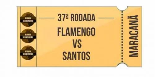 Ingressos – Flamengo x Santos