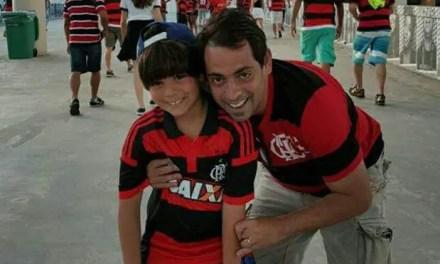 Filho levou Victorino Chermont de volta à arquibancada rubro-negra