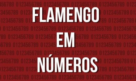 Números do Flamengo na temporada 2016